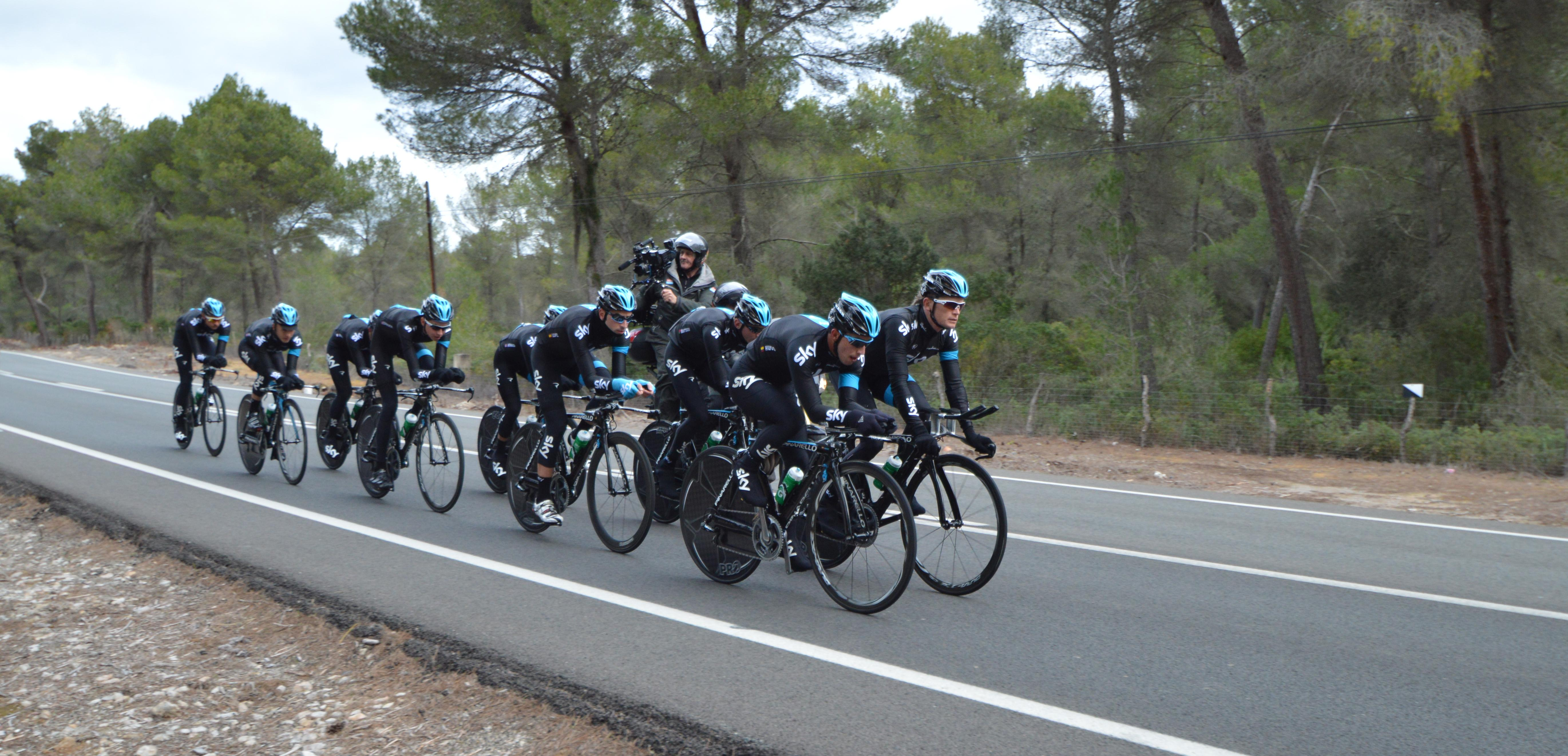 Team SKy Group TT Ride 5