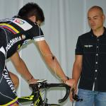 Retül fits with Colombia Cycling